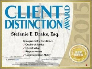 Client Distinction Award Badge